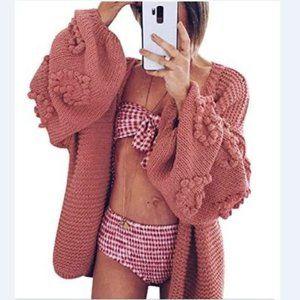 Cardigan Dolman Sleeve Sweaters